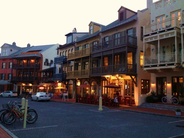 30A Rosemary Beach at NIght