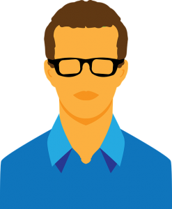 Avatar 30A man with glasses