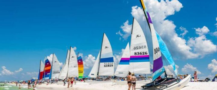 Rags to Riches Regatta at Grayton Beach